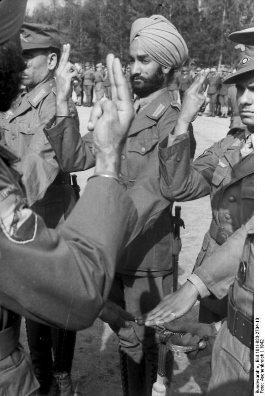 Free Indian Legion 3